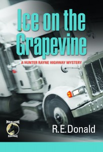 Ice on the Grapevine Cover