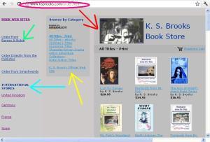 K. S. Brooks' Book Store