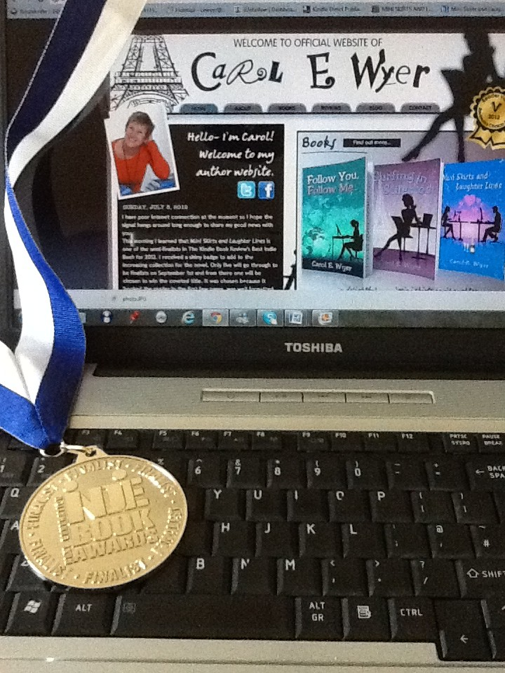 Mini Skirts and Laughter Lines Wins Silver Medal in 2012 Indie Book Awards