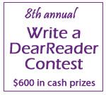 8th Annual Write a DearReader Contest