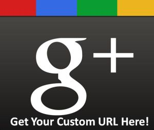Google+ custom URL's now available