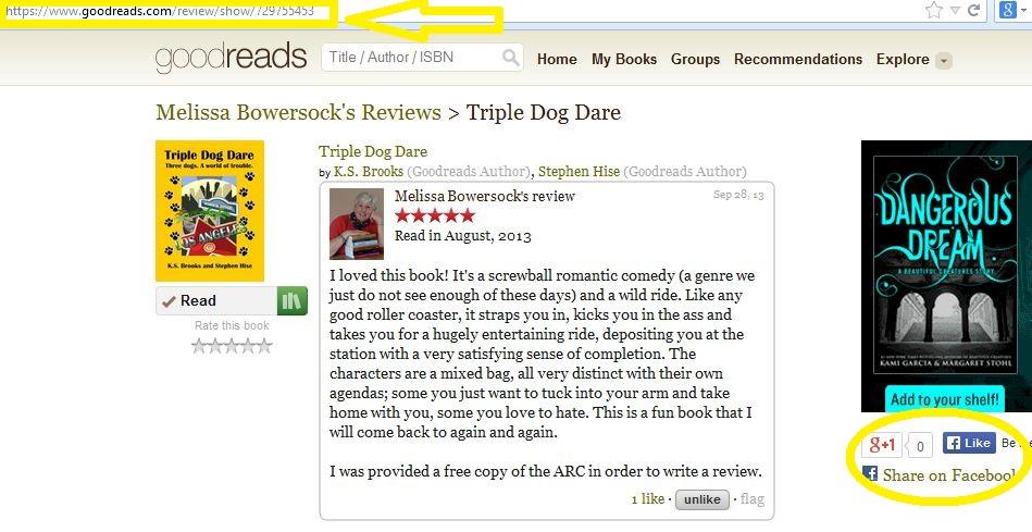 Reviews Goodreads 2