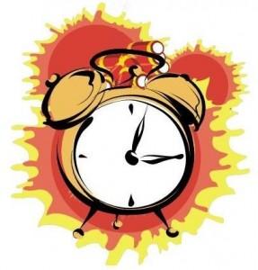 exploding alarm clock