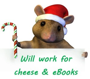 christmas ebook mouse