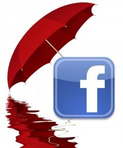 facebook rain