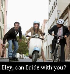 get a ride
