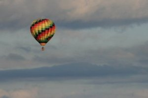 hot air balloon near oswego ny oct 2008