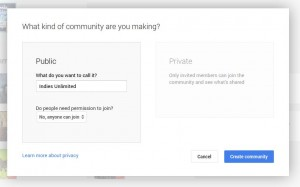 G+3 Google Plus Communities