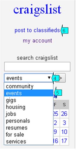 craigs list event 1