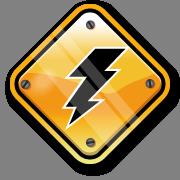 Lightning sign
