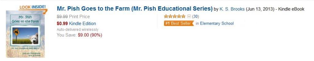 pgf bestseller badge elementary school