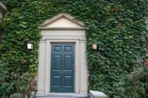 Door in Hedgerow Photo by K.S. Brooks
