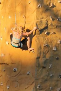 2014 Chataqua rock wall climber Flash Fiction prompt