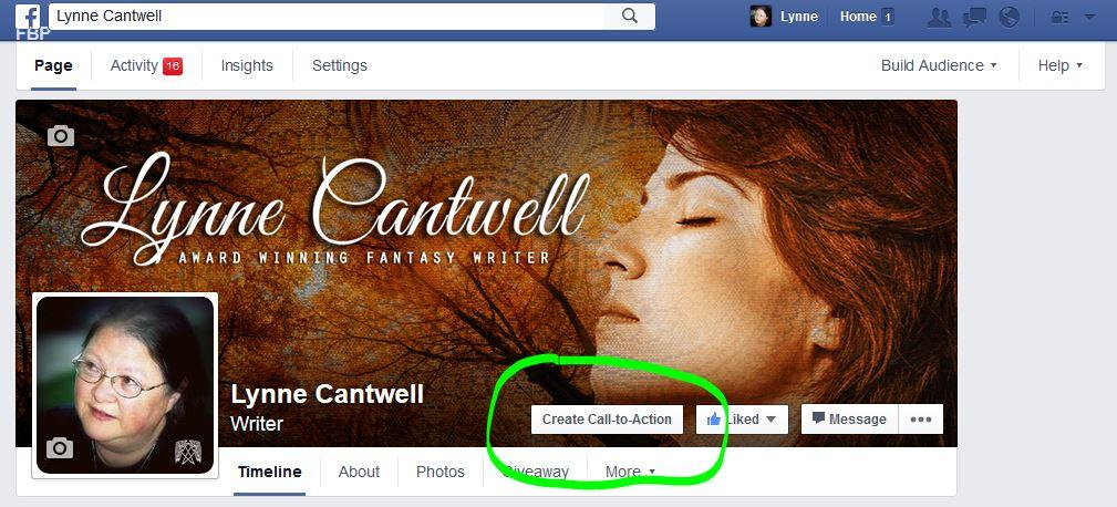 Facebook Call to Action button 1