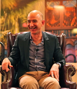 Jeff Bezos' iconic laugh does not endorse this post.