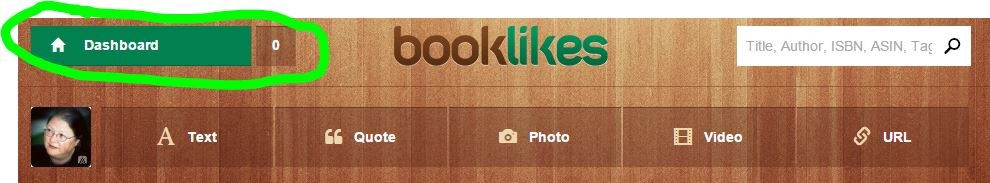 Booklikes Dashboard