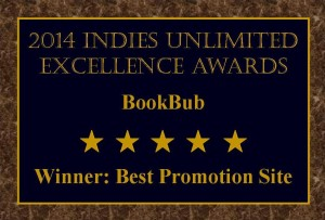 Winners Plaque Best Promotion Site BookBub