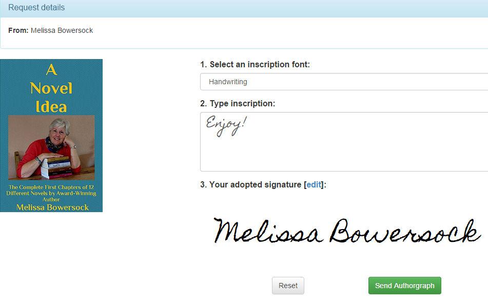 Authorgraph request