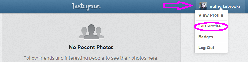 instagram starting out profile