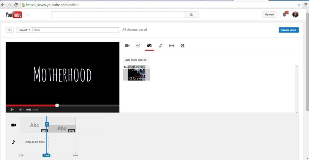 4_motherhoodnormal Youtube Video Editor