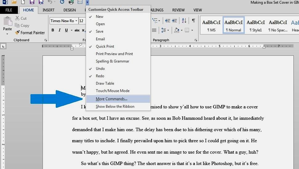 Microsoft Word Speak1
