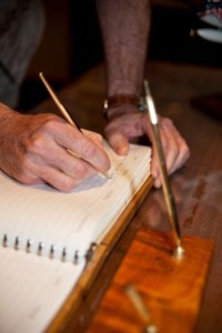 sign the author blog tour guest book