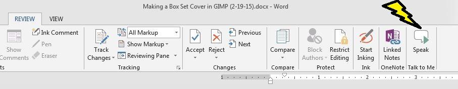 Microsoft Word Speak4