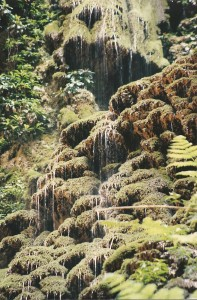 rio camuy waterfall 1999 photo prompt copyright K. S. Brooks all rights reserved