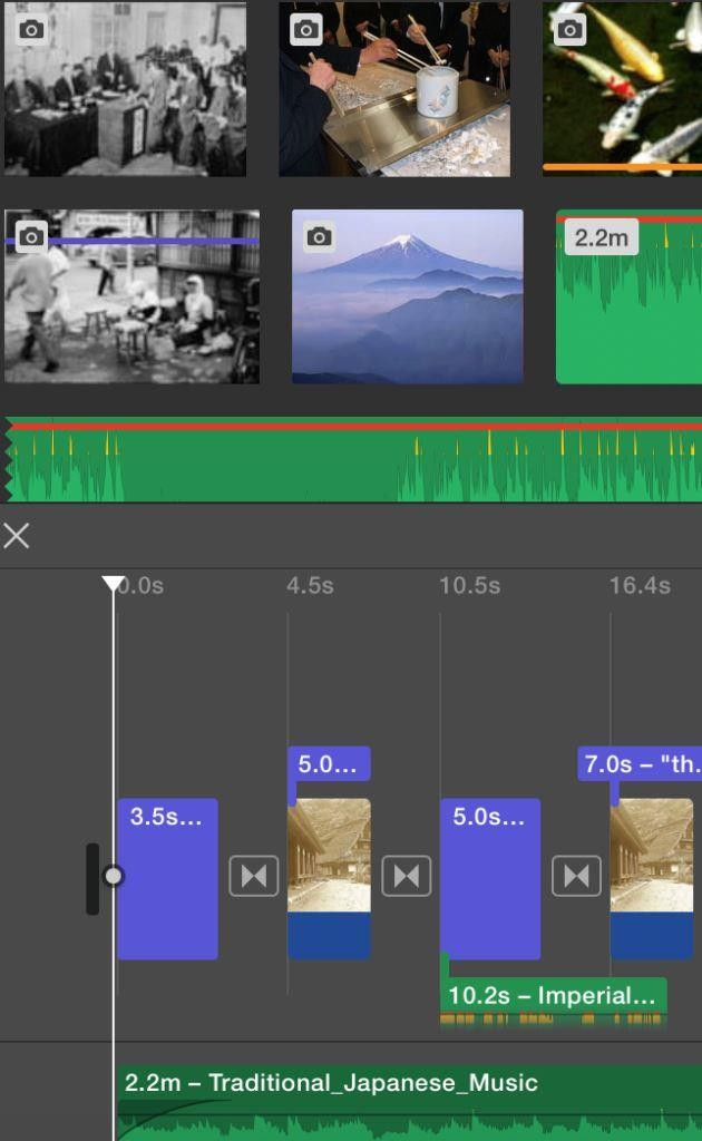 7 imovie audio