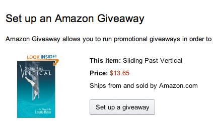 Amazon giveaway 2