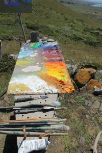 2014 May Day 3 Goat Rock Painter Palette Flash Fiction Prompt