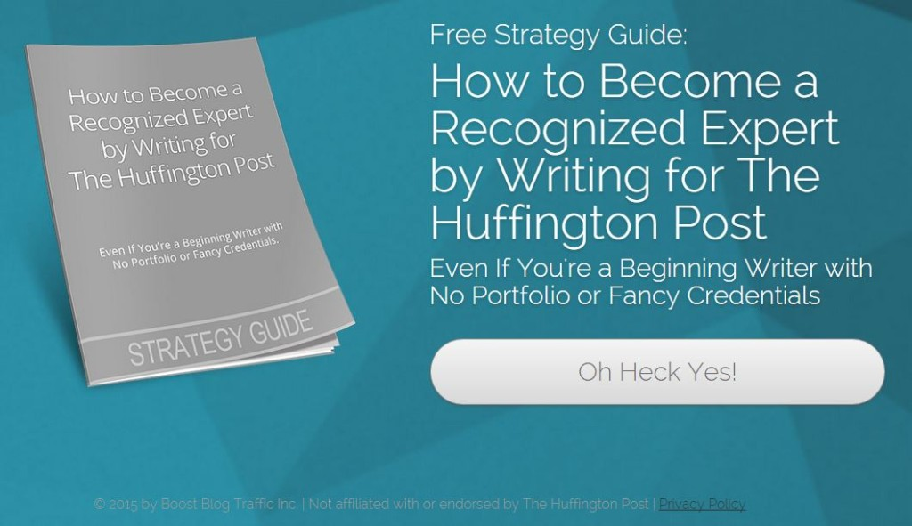 Guest Blog 1 Huffington Post Scam