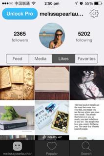 Melissa Pearl on Instagram