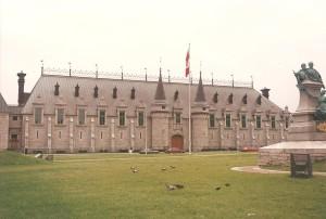 chateau quebec city 1994 flash fiction writing prompt copyright KS Brooks