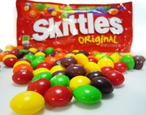 skittles an authors book marketing scheme