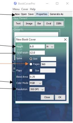 book cover pro dashboard