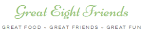 Great eight friends logo