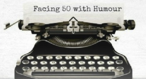 facing 50 with humour logo