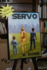 SERVO poster at Comic Con