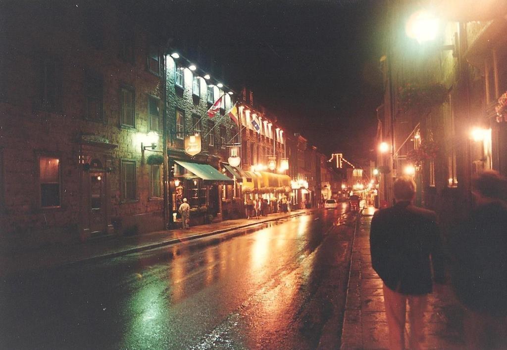 flash fiction writing prompt night-quebec-city-1994-copyright-ksbrooks