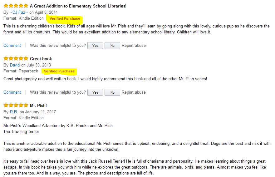mr pish verified reviews