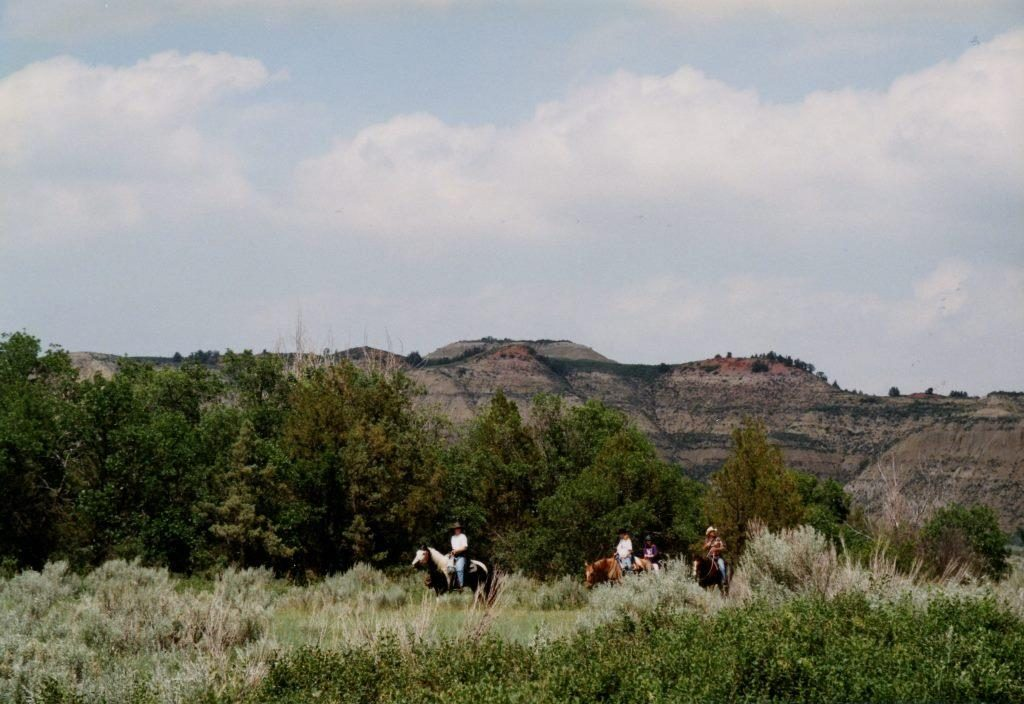 riders flashfiction prompt copyright KS Brooks theodore roosevelt national park north dakota june 2001