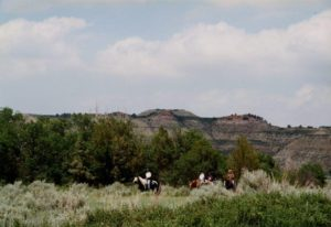 riders flashfiction prompt copyright KS Brooks theodore roosevelt national park north dakota june 2001