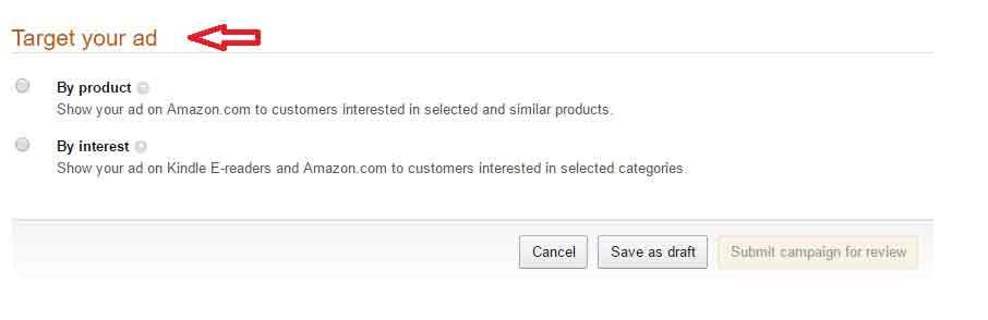Amazon Marketing ad Product-set-up-1-targeting-