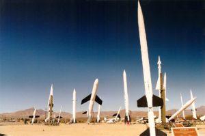 Missiles flash fiction writing prompt copyright KS Brooks white sands 1998