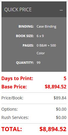 48 hour full color hardcover