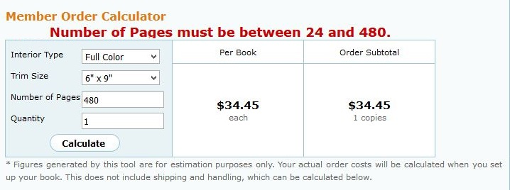 createspace page requirements