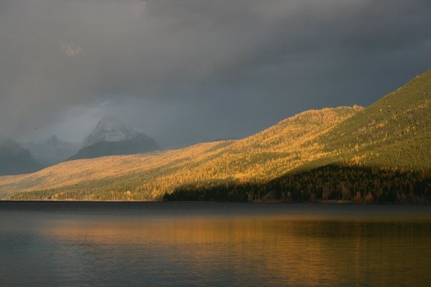 lake mcdonald glacier national park 102208