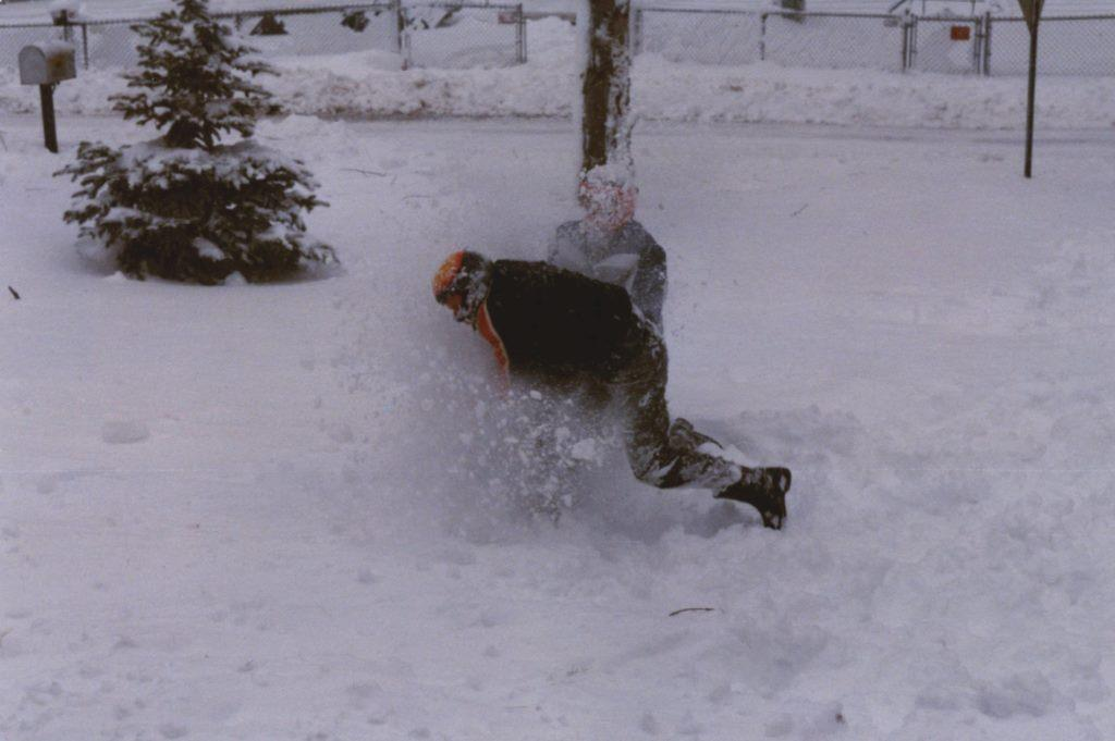 snowball fight 1981adj copyright KS Brooks