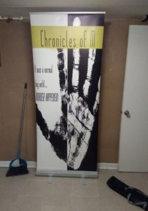 book banner for conventions